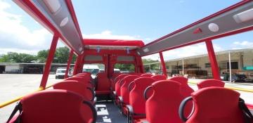 Autobus cabrio per turismo cittadino