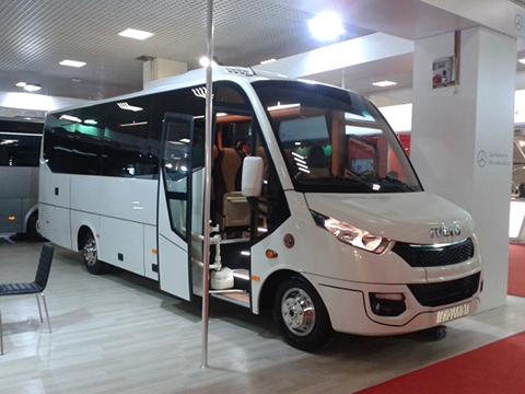 Parco autobus nuovo