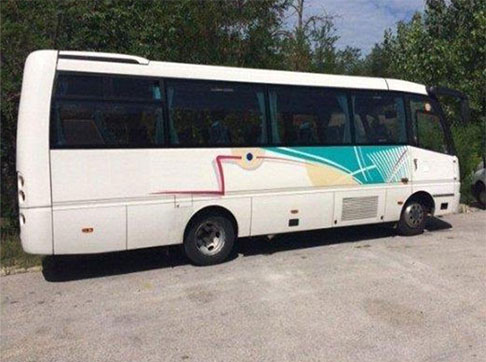 Autobus usato Toyota Caetano