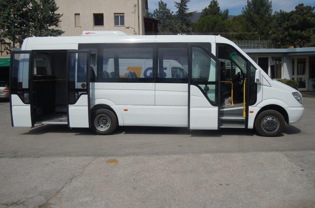 Autobus urbano Mercedes benz sprinter 906