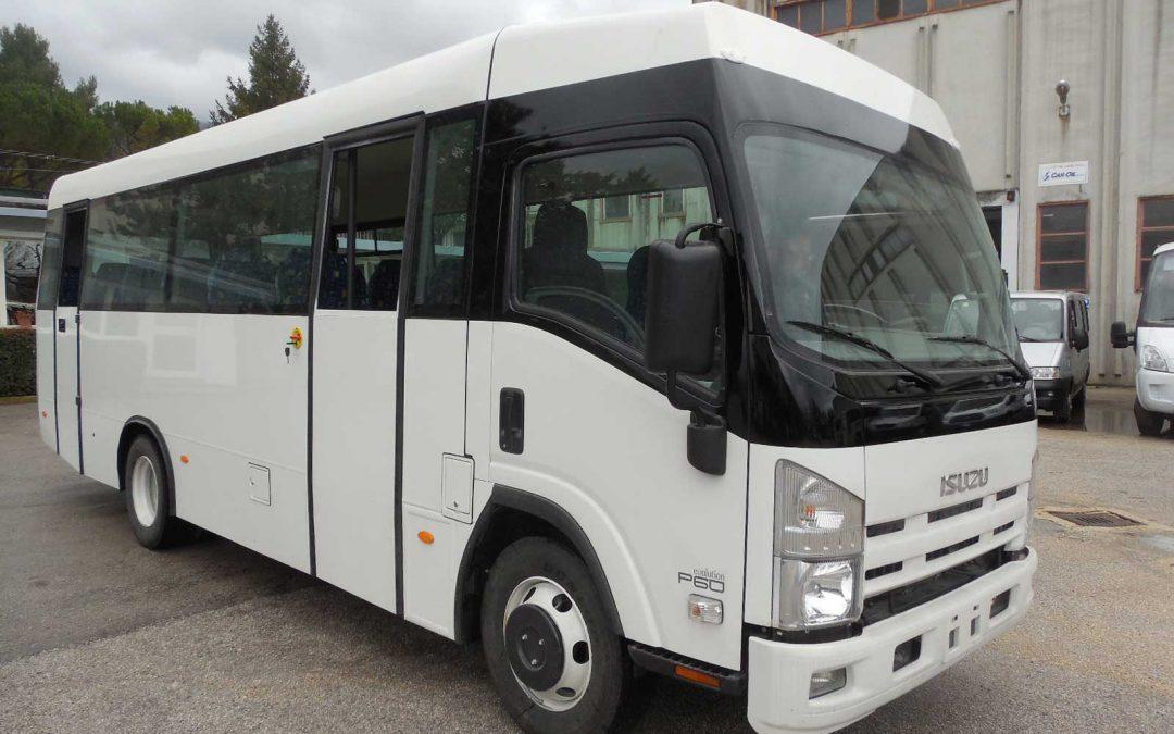 Autobus usato isuzu P60