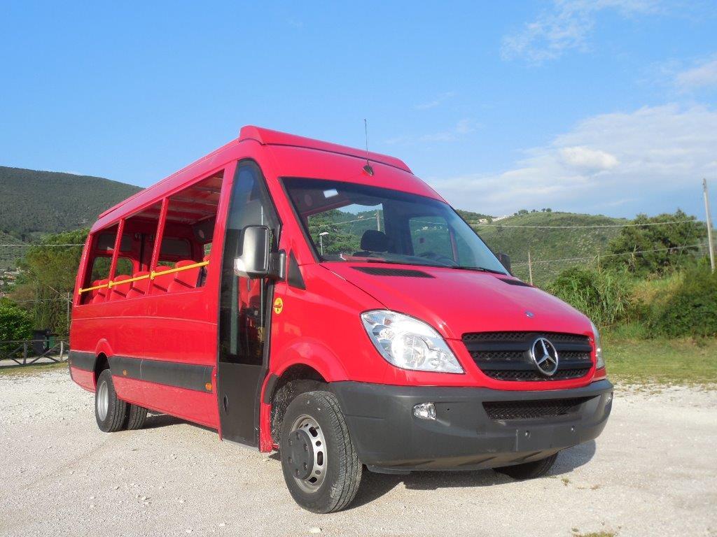 Autobus cabrio Mercedes Benz sprinter F