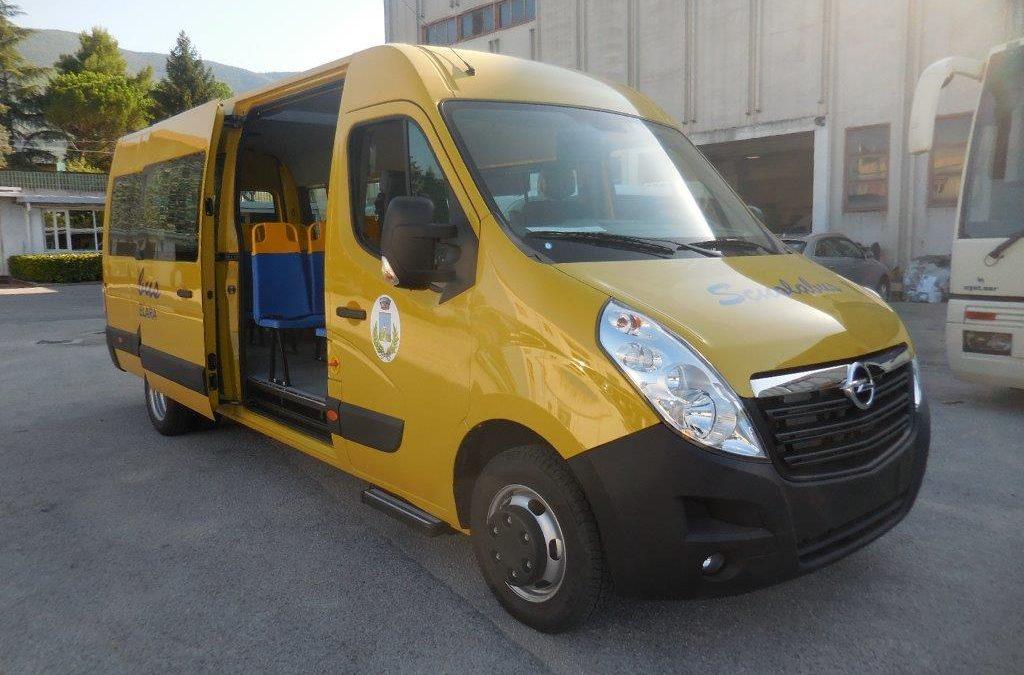 Scuolabus Opel Movano – Renault Master